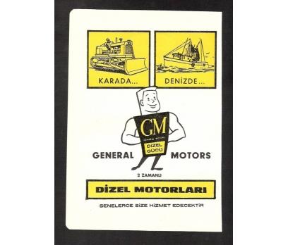 REKLAM-GENERAL MOTORS-DİZEL MOTORLARI