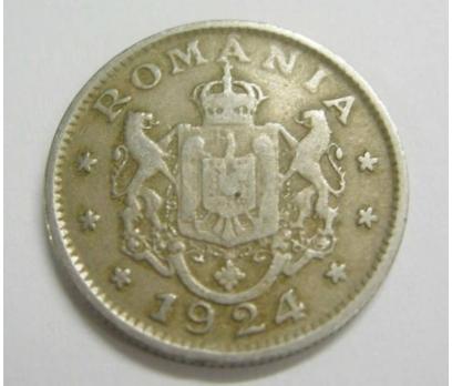 ROMANYA 1 LEU 1924 NİKEL