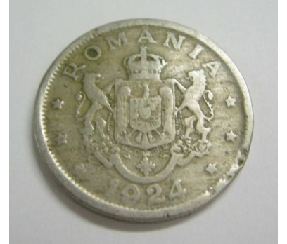 ROMANYA 2 LEİ 1924 NİKEL