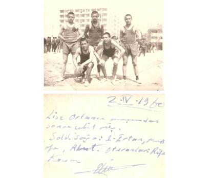 TİP-BİR GRUP GENÇ SPORCU-1960 YILI.