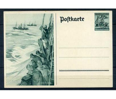 REİCH ANTİYE 1938 BALIKÇILAR TEMALI NÖF (E-0214)