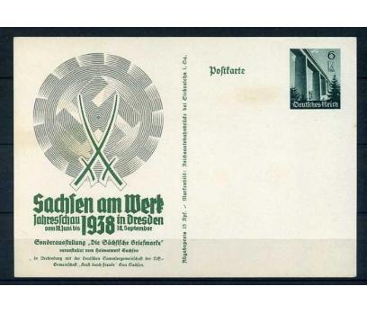 REİCH ANTİYE 1938 SACHFEN NÖF (E-0214)