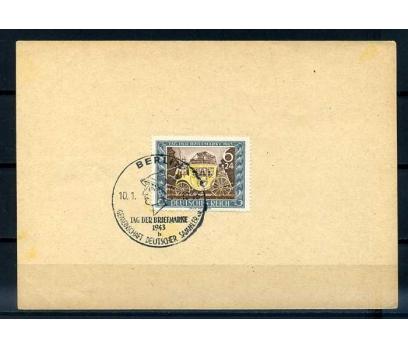 REİCH HATIRA KART 1943 BERLİN DAMGALI (E-0214)