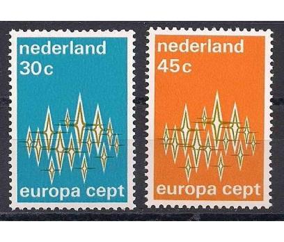 1972 Hollanda Europa Cept Damgasız**