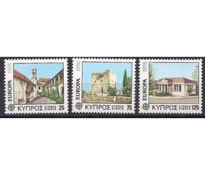 1978 Kıbrıs Rum Europa Cept Mimari Damgasız**