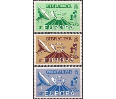 1979 Cebelitarık Europa Cept İletişim Damgasız**