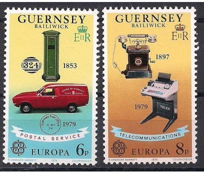 1979 Guernsey  Europa Cept İletişim Damgasız**