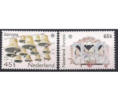 1981 Hollanda Europa Cept Müzik Damgasız**