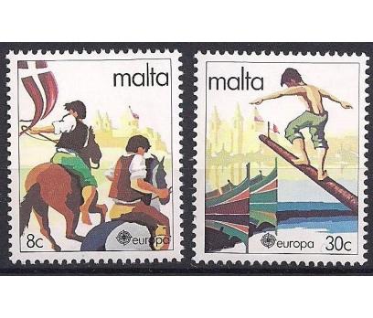 1981 Malta Europa Cept Folklör Damgasız**