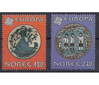 1981 Norveç Europa Cept Folklör Damgasız**