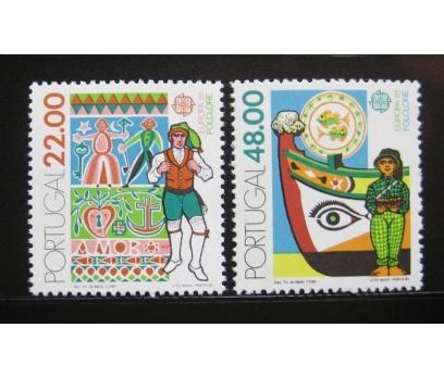1981 Portekiz Europa Cept Folklör Damgasız**