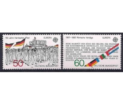 1982 Almanya Europa Cept Damgasız**