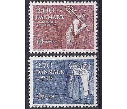 1982 Danimarka Europa Cept Damgasız**