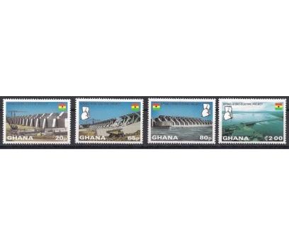 1982 Gana Kpong Barajı Damgasız**