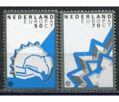 1982 Hollanda Europa Cept Tarih Damgasız**