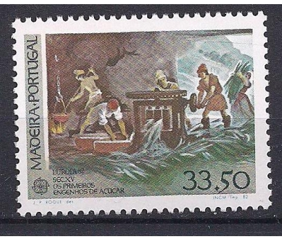 1982 Madeira Europa Cept Tarih Damgasız**