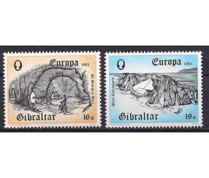 1983 Cebelitarık Europa Cept Damgasız**