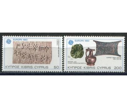 1983 Kıbrıs Rum Europa Cept İnsan Aklı Damgasız**