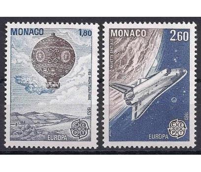 1983 Monako Europa Cept Damgasız**