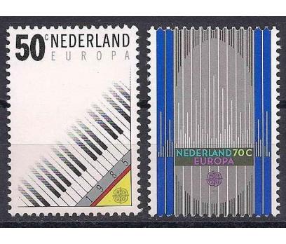 1985 Hollanda Europa Cept Müzik Yılı Damgasız**