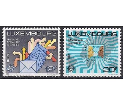 1988 Luksemburg Europa Cept Ulaşım Damgasız**