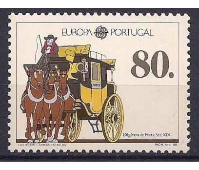 1988 Portekiz Europa Cept Damgasız**