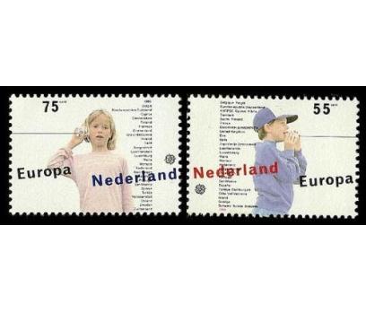 1989 Hollanda Europa Cept Damgasız**