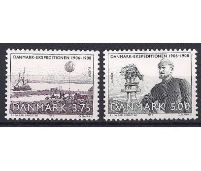 1994 Danimarka Europa Cept Kaşifler Damgasız**
