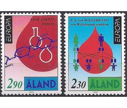 1994 Åland Europa Cept Keşifler Damgasız**