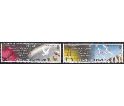1995 Cebelitarık Europa Cept Barış Damgasız**