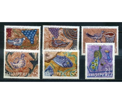 ARNAVUTLUK ** 1969 MOZAİKLER TAM SERİ (150414)