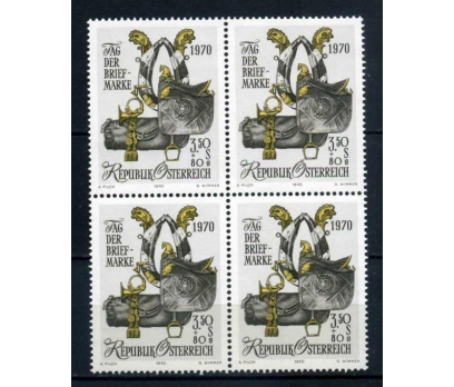 AVUSTURYA ** 1970 PUL GÜNÜ  DBL (190414)