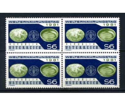 AVUSTURYA ** 1981 FAO  DBL (210414)