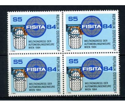 AVUSTURYA ** 1984 OTOMOBİL KONGRESİ  DBL (220414)