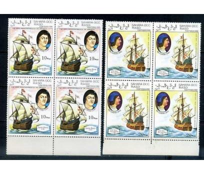 SAHARA ** 1993 GEMİLER & KAŞİFLER D.BLOK (170414) 2