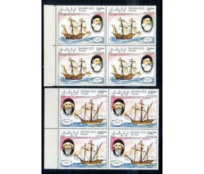 SAHARA ** 1993 GEMİLER & KAŞİFLER D.BLOK (170414) 4