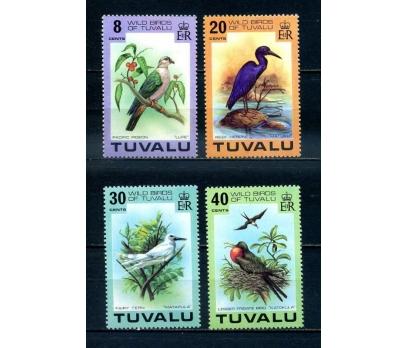 TUVALU  ** 1978  KUŞLAR TAM SERİ (250414)