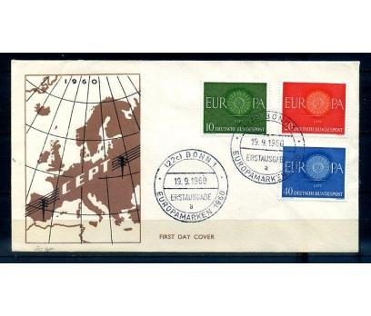 ALMANYA 1960 EUROPA CEPT  FDC SÜPER (300414)