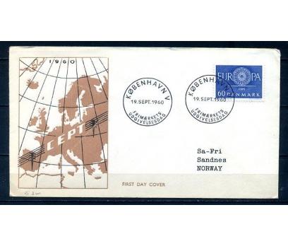 DANİMARKA 1960 EUROPA CEPT  FDC SÜPER (300414)