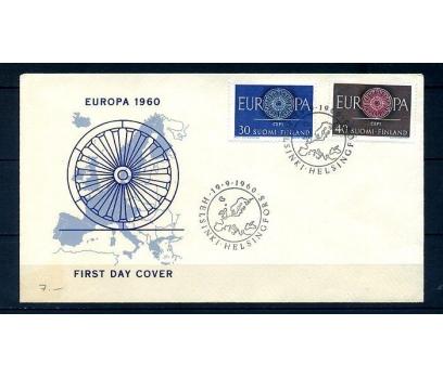 FİNLANDİYA 1960 EUROPA CEPT  FDC SÜPER (300414)