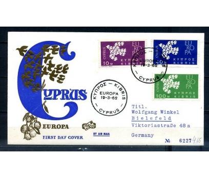 G.KIBRIS 1961 EUROPA CEPT  FDC SÜPER (300414)
