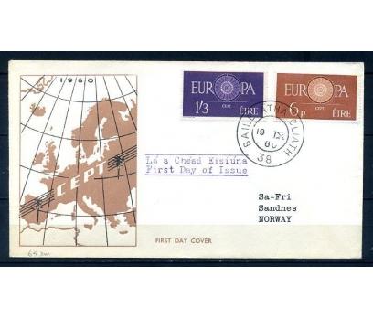 İRLANDA 1960 EUROPA CEPT  FDC SÜPER (300414)