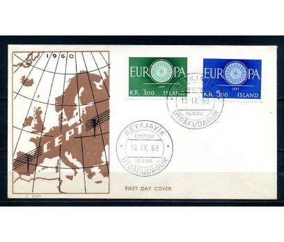 İZLANDA 1960 EUROPA CEPT  FDC SÜPER (300414)