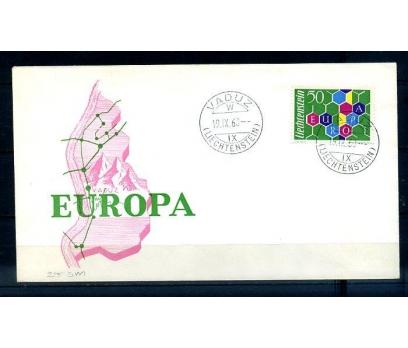 LİECHTENSTEİN 1960 EUROPA CEPT  FDC SÜPER (300414)