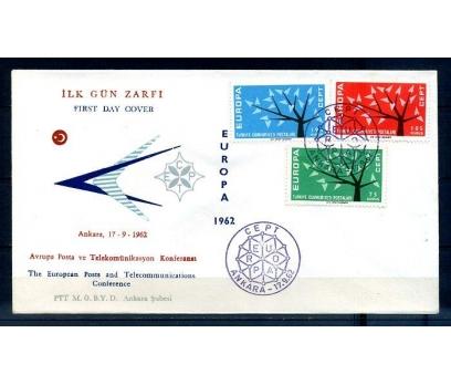 TÜRKİYE 1962 EUROPA CEPT  FDC SÜPER (300414)