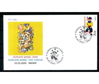 TÜRKİYE 2002 EUROPA CEPT  FDC SÜPER (290414)