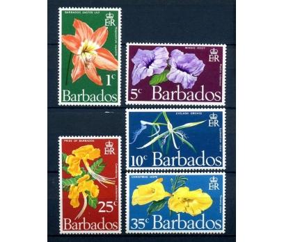 BARBADOS ** 1970 ÇİÇEKLER TAM SERİ  (080514)