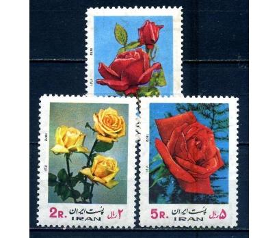 İRAN ** 1972 GÜLLER TAM SERİ  (080514)