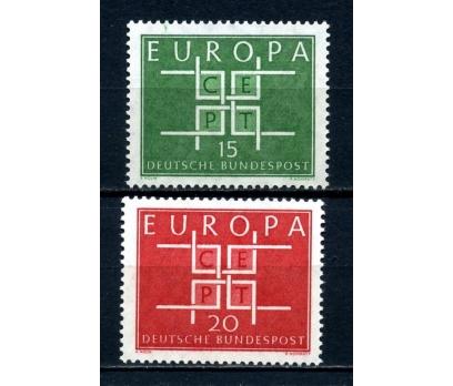 ALMANYA ** 1963 E.CEPT TAM SERİ SÜPER (100514)