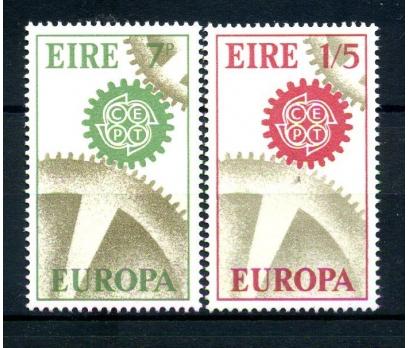 İRLANDA ** 1967 E.CEPT TAM SERİ SÜPER (110514)